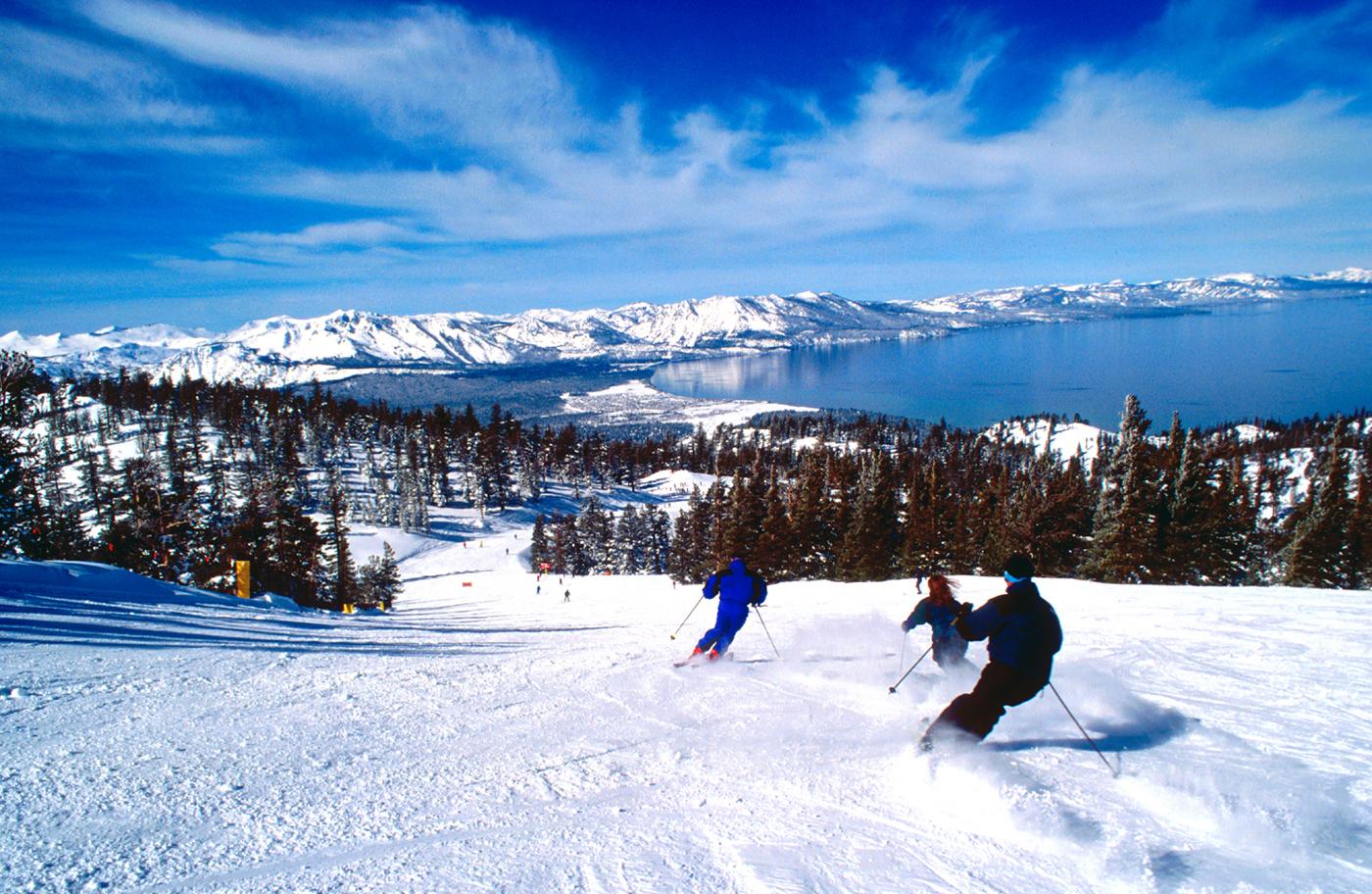 Ski Lake Tahoe USA