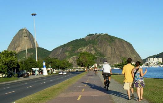 Orla no Rio de Janeiro