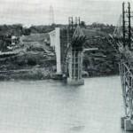 Ponte da Amizade construção
