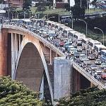 Ponte da Amizade trafego