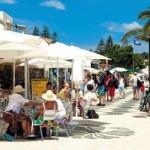 Praia da Luz lojas e bancas