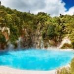Waimangu Volcanic Valley lago