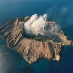 White Island aérea