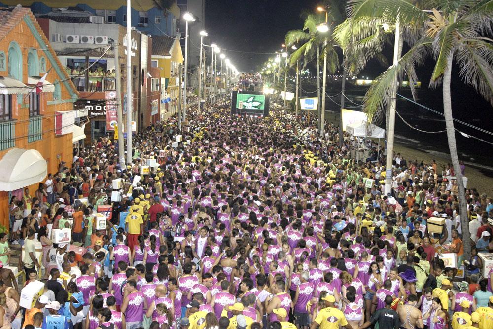 Carnaval em Salvador.