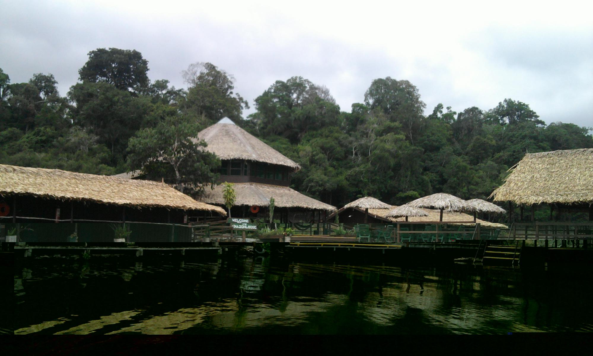 Hotel em meio a Amazônia