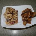 Cocada com amendoim