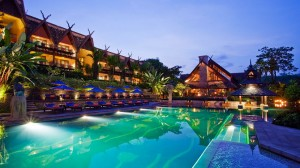 Piscina Anantara Golden Triangle Resort
