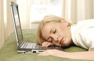 dormindo computador