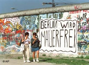 BERLIN MAUER GRAFFITI