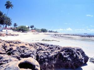 praia pontas de pedra