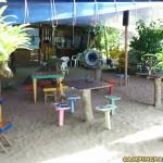 area para refeição manaus acampar