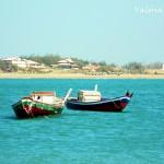 barcos ao mar no piaui
