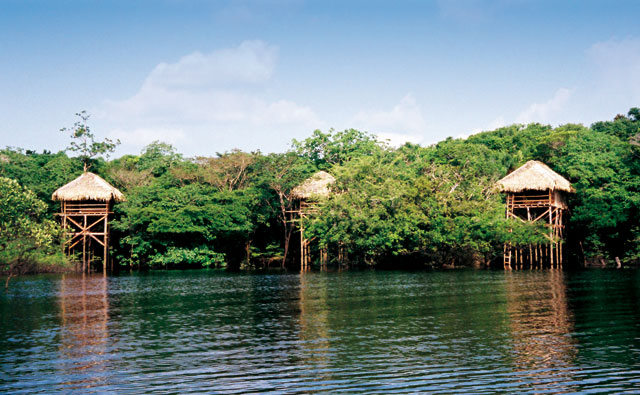 hotel dentro da floresta amazonica