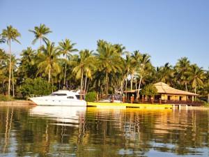 ilha de comandatuba barco