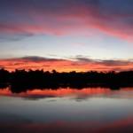 pôr do sol amazonas