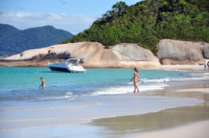Ilha do Campeche, Florianopolis, Brasil
