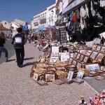 puestos de souvenirs nazare