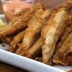 Manjubinha Frita