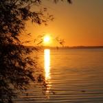 Pôr do sol do Guaíba