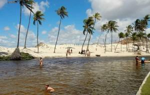 Barra de Tabatinga (Foto: Reprodução)
