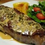 Bifteck au poivre
