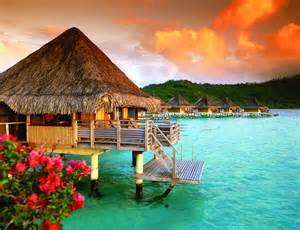 Over the water bungalow. (Foto: Reprodução)