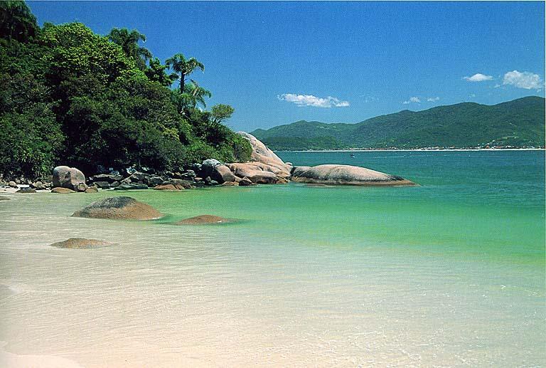 Ilha de Santa Catarina (Foto: Reprodução)
