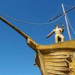 Monumento El Libertador y el Mar