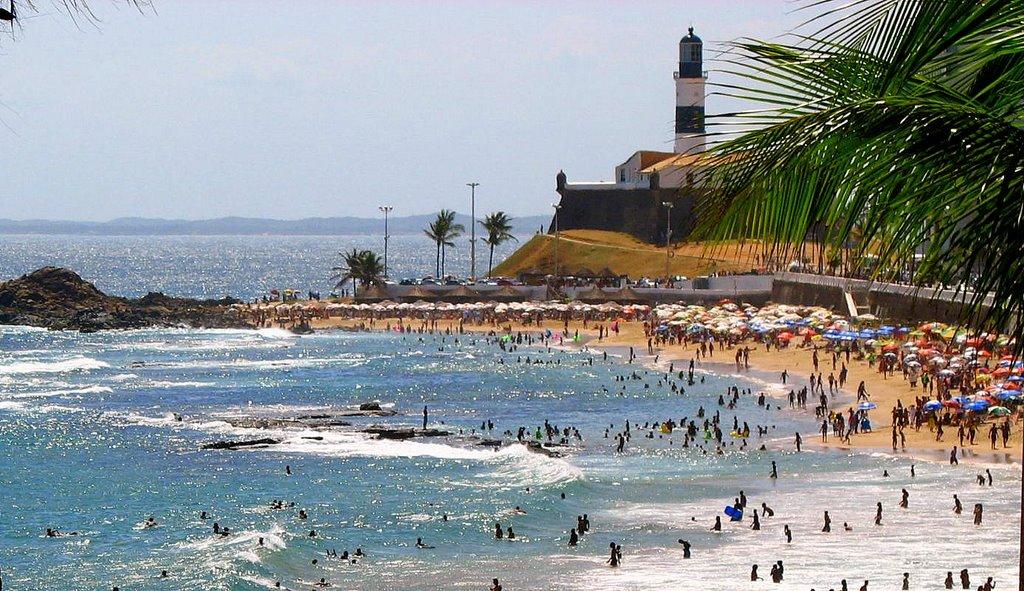 Praia Farol da Barra, farol, dicas, mais informações.
