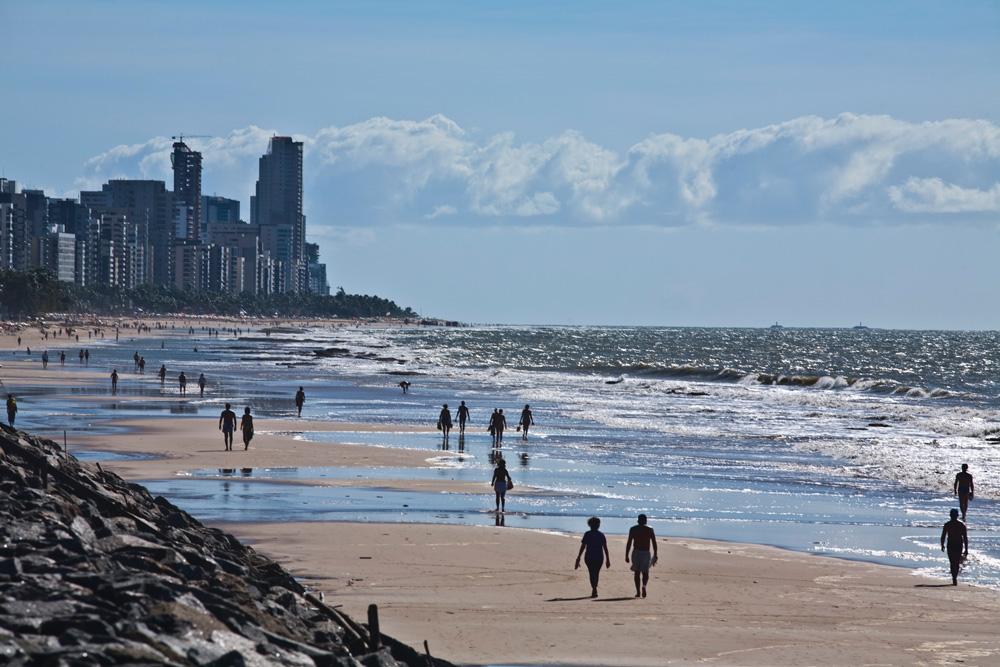 Praia de Boa Viagem tem o maior número de ataques de todo o país.