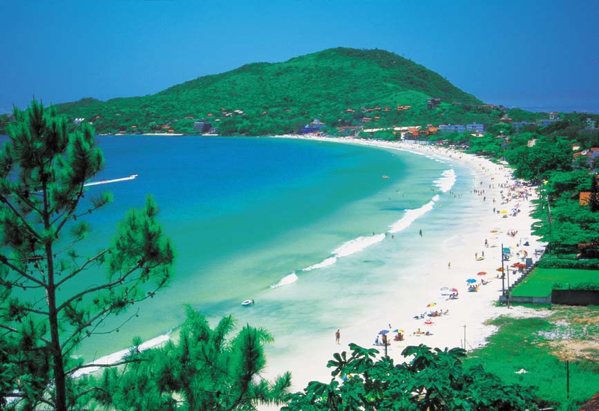 Praia de Bombinhas (Foto: Reprodução)