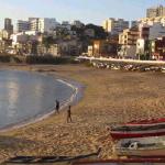 Praia do Rio Vermelho vazio