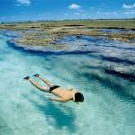 Águas límpidas propicia ao mergulho