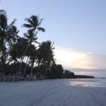 Fim de tarde na Quarta Praia