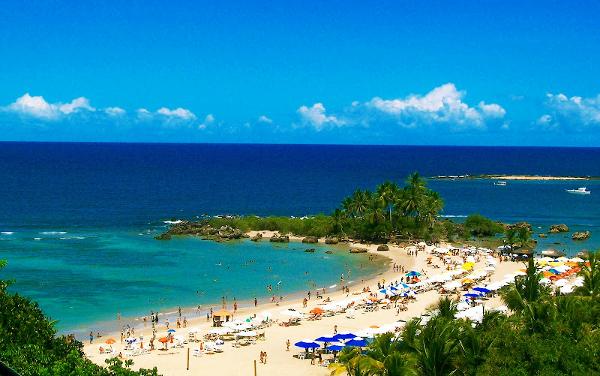 A Ilha é um dos pontos turísticos mais bonitos do Estado da Bahia