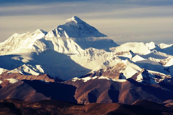 O Monte Everest é a montanha mais alta do Planeta Terra