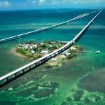 imagem aérea de um dos pontos de Key West. ( Foto Reprodução)