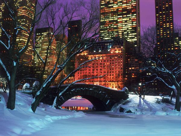 Um dos ambientes mais prazerosos de Nova York, o Central Park é perfeito para atividades relaxantes