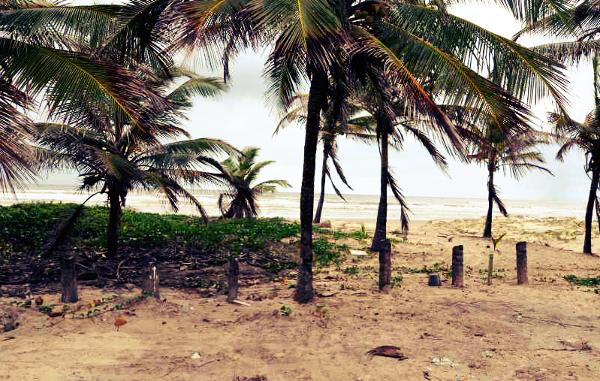Essa é uma das praias mais indicadas para prática de esportes.