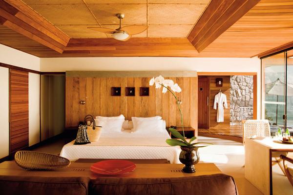 Ponta dos Ganchos é um hotel da região de Governador Celso Ramos e está categorizado como o melhor hotel do Brasil