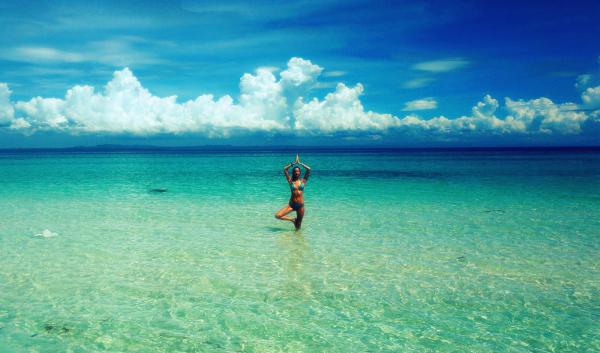 Uma desconhecida, mas incrivelmente linda, ilha das Filipinas.