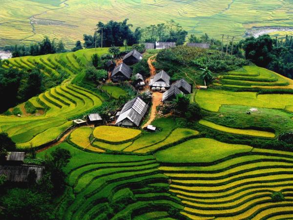 Mais conhecido ponto turístico do Vietnã