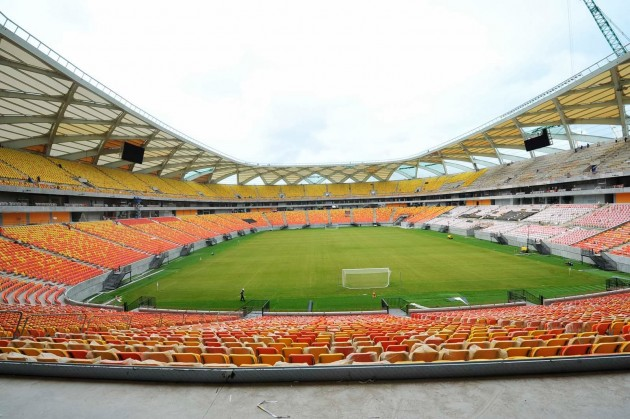 Maior estádio da cidade de Manaus.