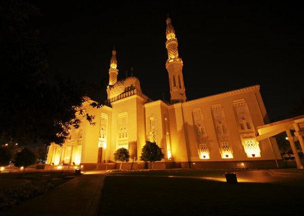 A única mesquita aberta ao público de Dubai.