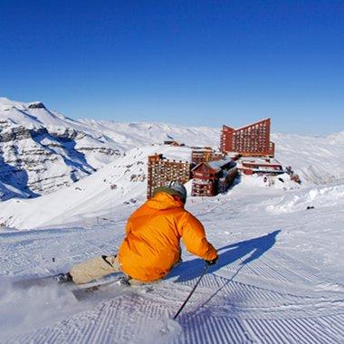 A excursão ao Valle Nevado só pode ser feita sob direcionamento de um guia.