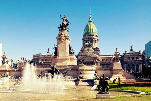 Capital da Argentina.