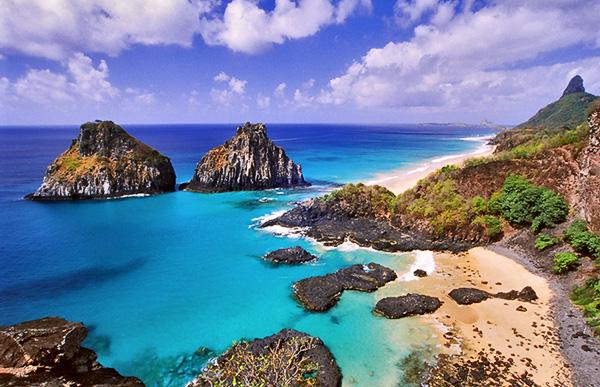 Um paraíso brasileiro.