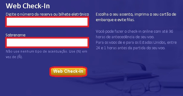 Copa Airlines check in online passo a passo