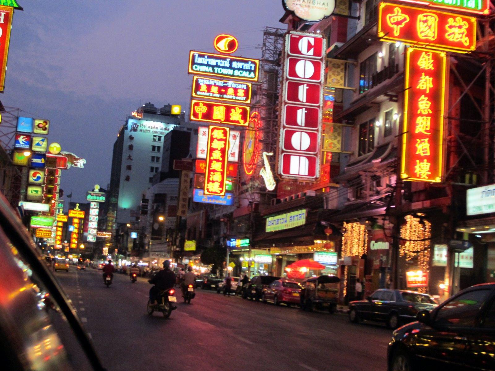 Pontos turísticos de Bangkok
