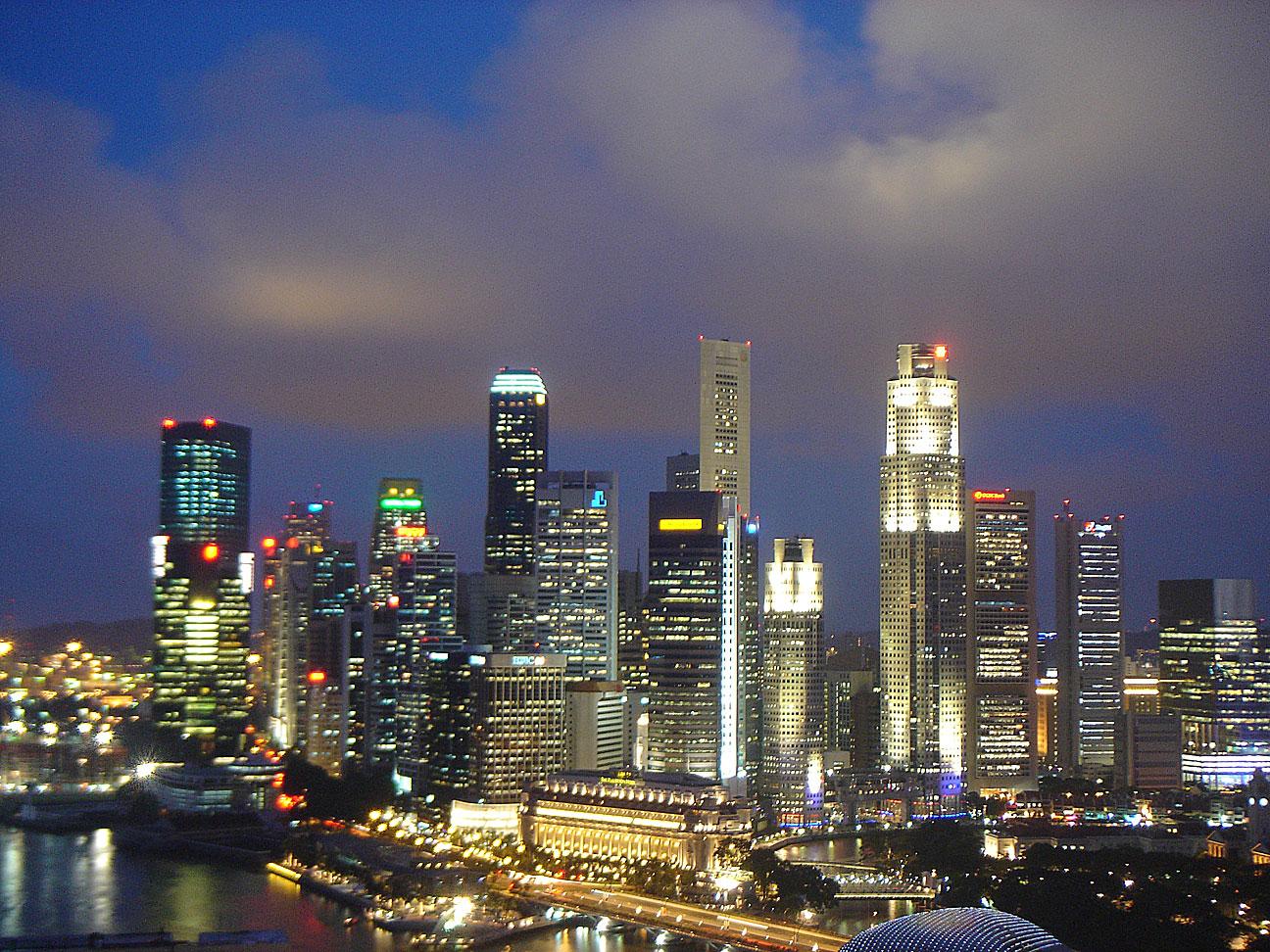 Pontos turísticos de Singapura